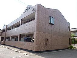 岡山県倉敷市連島中央5丁目の賃貸アパートの外観