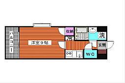 ラティーナ松香台I[3階]の間取り