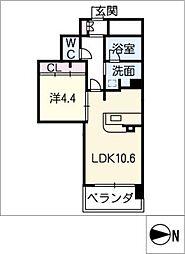 和館[6階]の間取り