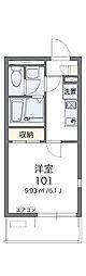 コージーハウス赤坂[2階]の間取り