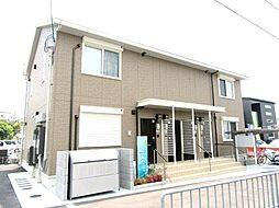 大阪府羽曳野市伊賀3丁目の賃貸アパートの外観