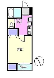 湘南サンライズガーデン5[2階]の間取り