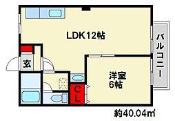 SUN VILLAGE 平田台[1階]の間取り