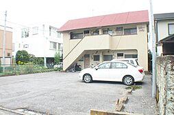 栃木県宇都宮市大寛2丁目の賃貸アパートの外観