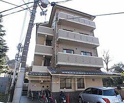京都府京都市東山区今熊野阿弥陀ヶ峰町の賃貸マンションの外観