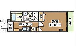 東京都江戸川区平井5丁目の賃貸マンションの間取り