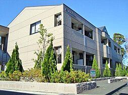 千葉県茂原市大芝の賃貸アパートの外観