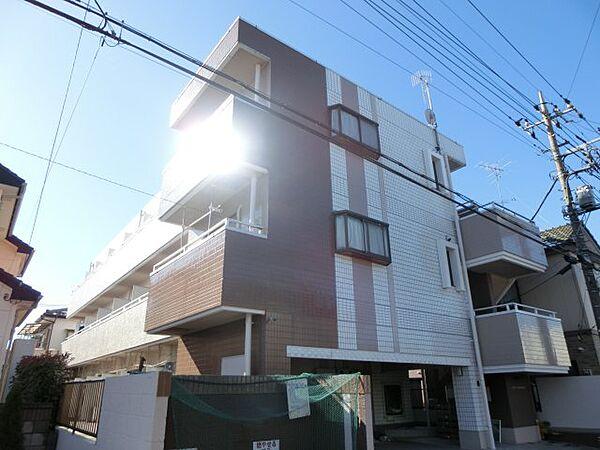 ラヴィエ新宿[205号室]の外観