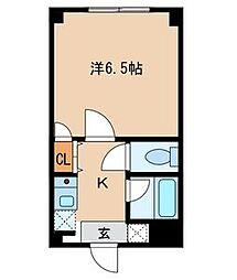 東京都大田区南雪谷1丁目の賃貸マンションの間取り