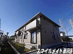 神奈川県藤沢市西俣野の賃貸アパートの外観
