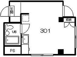 ザ・21[301号室]の間取り
