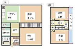 [一戸建] 茨城県つくばみらい市谷井田 の賃貸【/】の間取り
