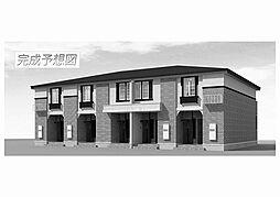 福岡県飯塚市菰田西3丁目の賃貸アパートの外観