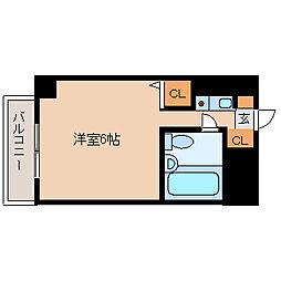猪名寺パークマンション1[5階]の間取り