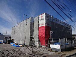 長野県松本市村井町南4丁目の賃貸アパートの外観