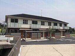 広島県広島市安佐南区長束西4丁目の賃貸アパートの外観