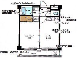 第5浦濱ビレッジ[2階]の間取り