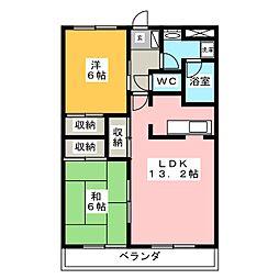 プロニティ日進[3階]の間取り