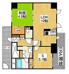 エルハイム西横浜[311号室]の間取り