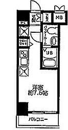 LUMEED横浜阪東橋[10階]の間取り