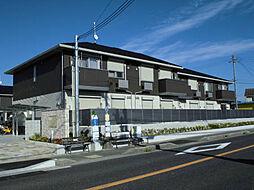 兵庫県三木市加佐の賃貸アパートの外観