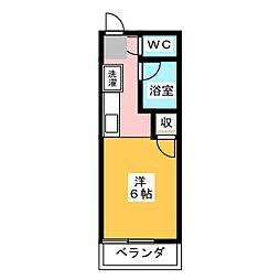 SurplusFUJI[2階]の間取り
