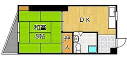 TOEI城野ビル[405号室]の間取り