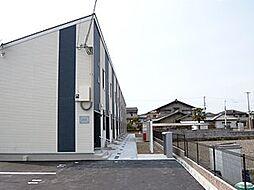 兵庫県姫路市野里の賃貸アパートの外観