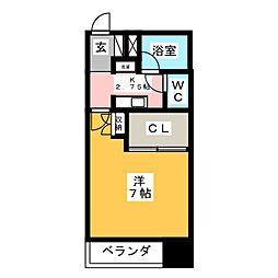 レジデンス小島[3階]の間取り