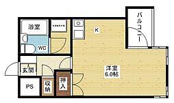 ライオンズマンション新大阪第3[9階]の間取り