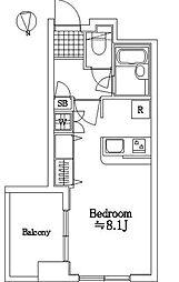 マートルコート調布コアシティ[3階]の間取り