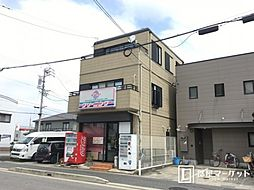 愛知県岡崎市柱町字下弁当の賃貸マンションの外観