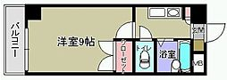 KMマンション八幡駅前[402号室]の間取り