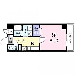 孝寿荘[307号室号室]の間取り