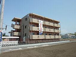 茨城県常陸大宮市下町の賃貸マンションの外観