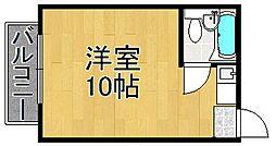 クエステ塚口[2階]の間取り