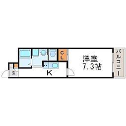 iCUBE(アイキューブ)[3階]の間取り
