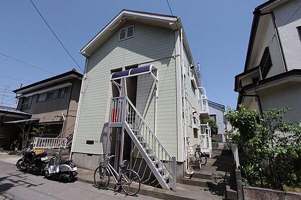 カーサ藤崎[201号室]の外観