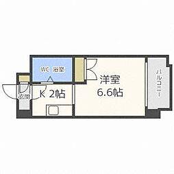 あおばビルN25[5階]の間取り