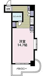 夏井ケ浜リゾートマンション[301号室]の間取り