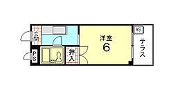 やまいくマンション[103号室]の間取り