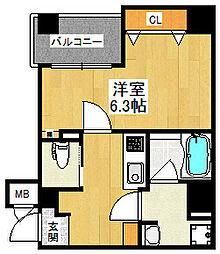 Grandi甲子園Park5[601号室]の間取り