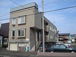 北海道札幌市東区北二十五条東22丁目の賃貸アパートの外観