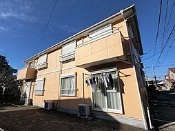千葉県四街道市和良比の賃貸アパートの外観