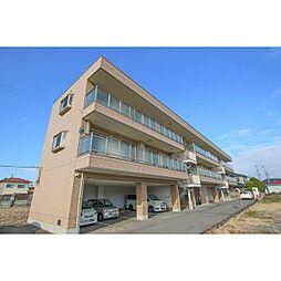 岡山県岡山市東区瀬戸町沖の賃貸マンションの外観