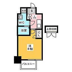 アクアシティイーストパーク[4階]の間取り