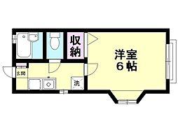 アイ三田[201号室号室]の間取り