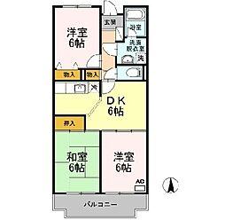ルミエール新宿[403号室]の間取り