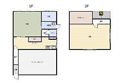 [一戸建] 新潟県新潟市西区寺尾 の賃貸【/】の間取り