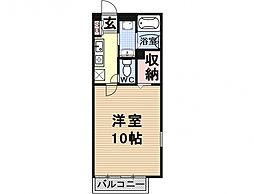 Heights TANAKA site I[202号室号室]の間取り